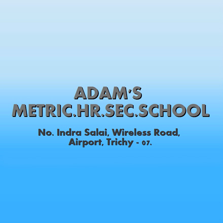 Adams Matriculation School